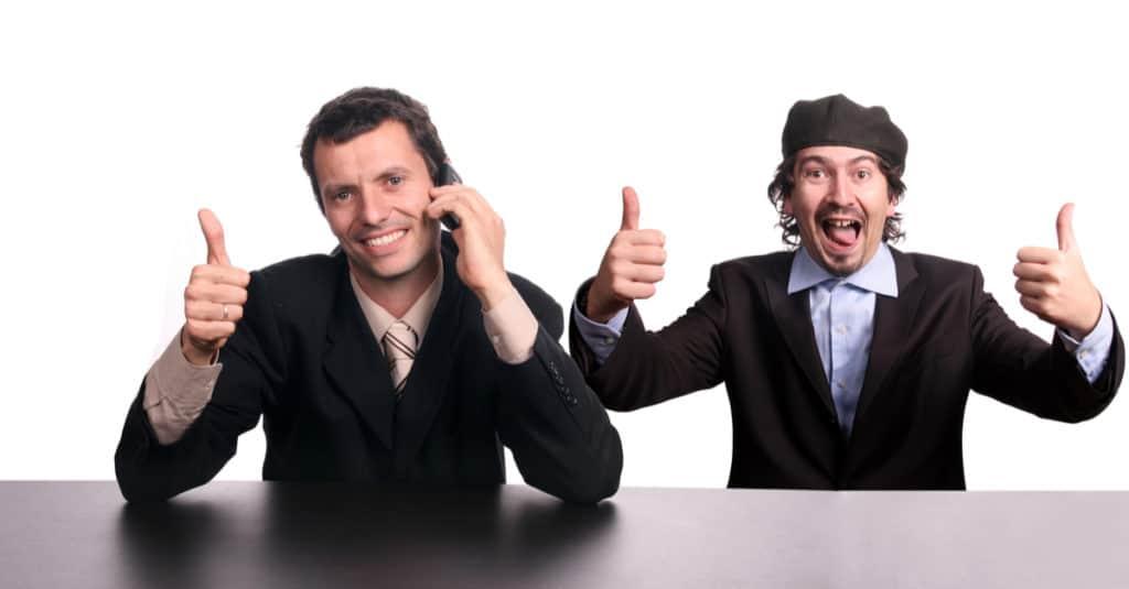 Als je vaart de telefoonservice laat verzorgen krijg je nieuwe klanten